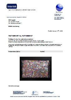 Zertifikat Konfetti