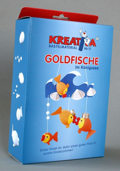 "Kreativsortiment ""Goldfische"""