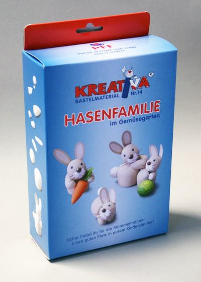 """Kreativsortiment """"Hasenfamilie"""""""