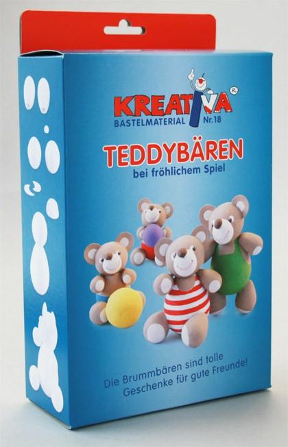 """Kreativsortiment """"Bärenfamilie"""""""