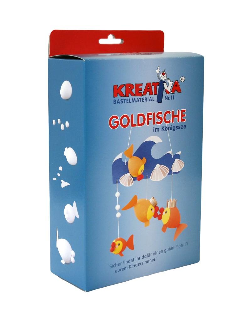 KREATIVA Nr. 11 Goldfische …im Königssee Bastelset